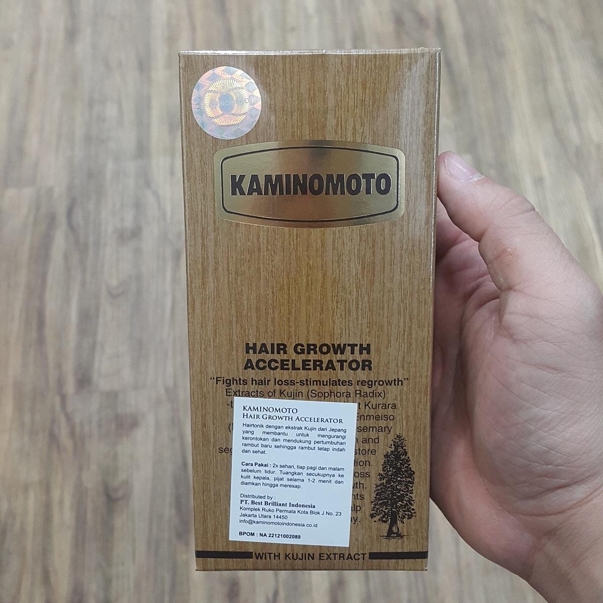 Kelebihan Kaminomoto Paket Hair Growth Accelerator Shampoo Terkini Tonic Original