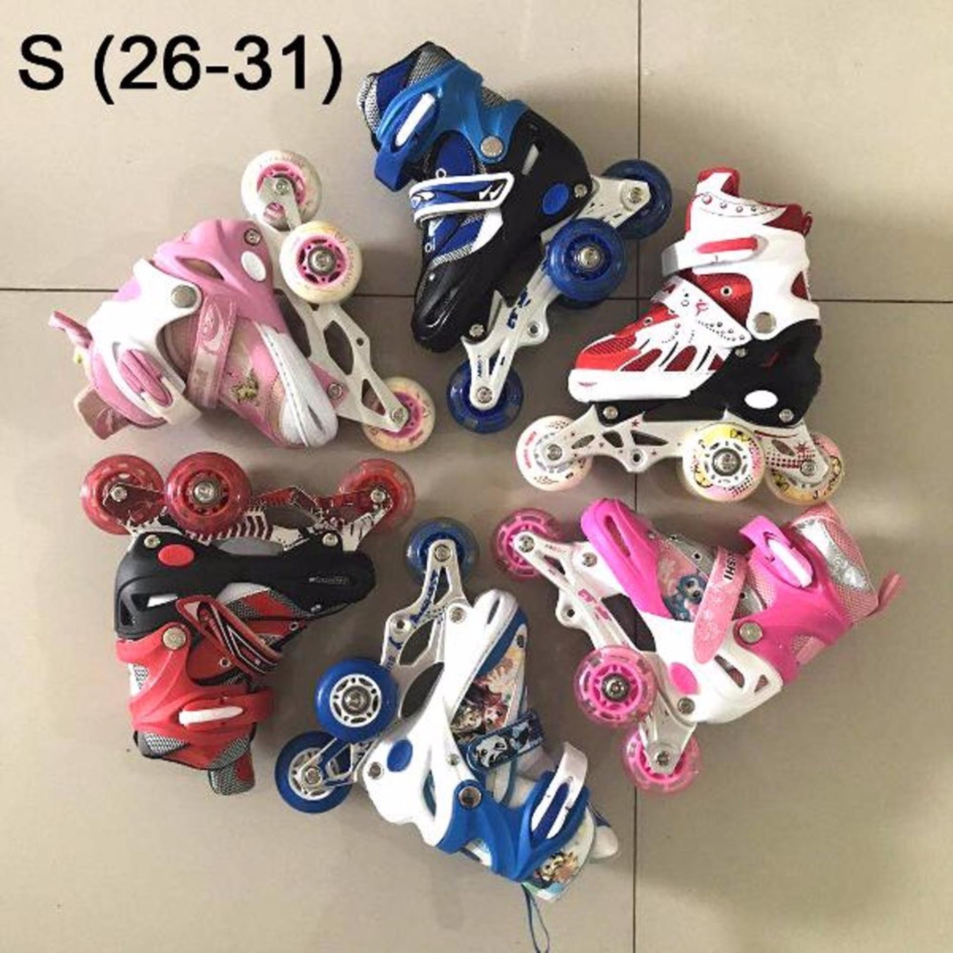 Cek Harga Baru Sepatu Roda Ban Karet Inline Skate Pu Wheels Anak Dan ... 66b1517b01