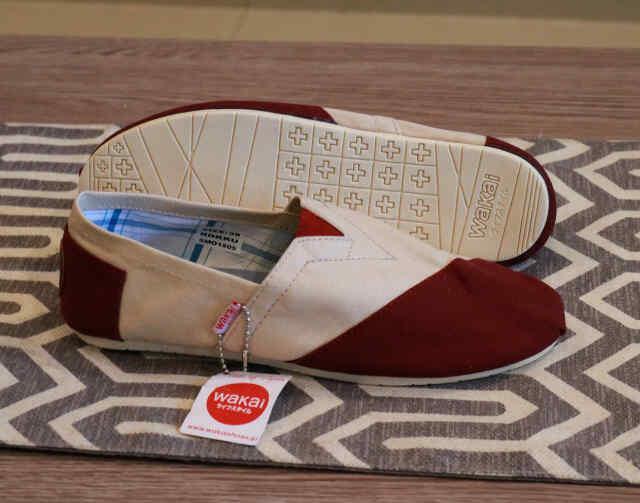 Promo Sepatu Wakai Slip On Wanita original Vietnam gratis kaos kaki Fashion