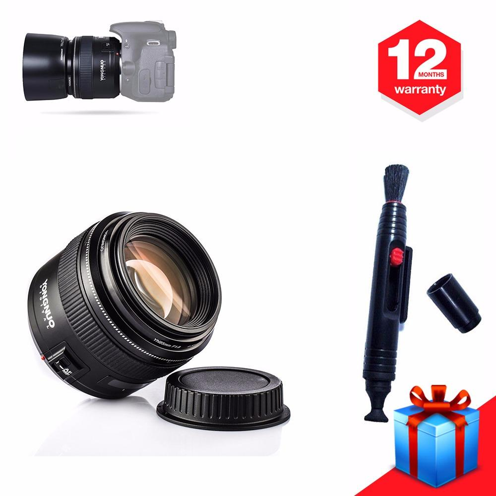 Yongnuo YN85MM F1.8 Medium Telephoto Prime Lensa AF MF For Canon EOS DSLR Camera - intl