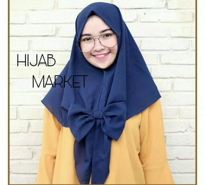 jilbab instan khimar pita ceruti non pet
