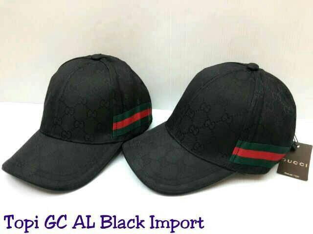 Topi Gucci Al List Samping Semi Premium Import
