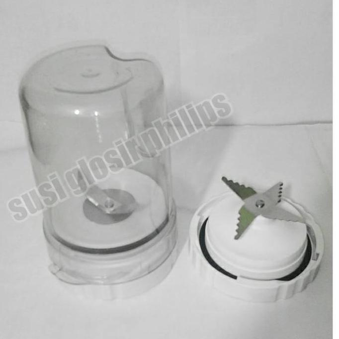 Gelas Set Bumbu & Mounting Jus Blender Philips Hr 2115/2116/2061/2071 - Asasf