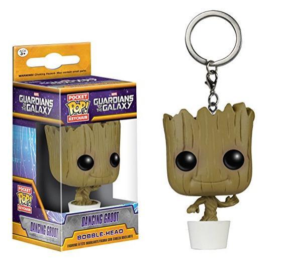 POP Guardians of the Galaxy 2 action Figure Lucu Koleksi Model Toy harga murah Anak-anak hadiah dengan kotak asli keychain Silver