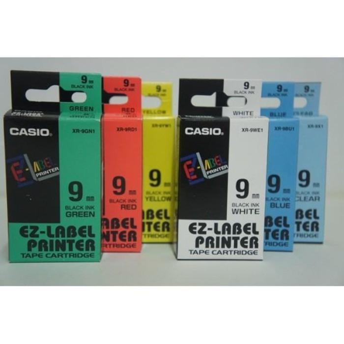 ORIGINAL - Jual Catridge Pita EZ Label EZLabel Printer Casio 9mm 9 mm