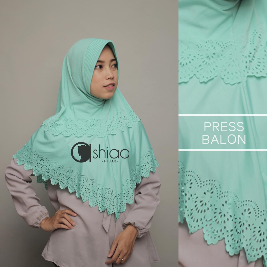 Cek Harga Baru Kananta Hijab Kerudung Bergo Instan Aisyah Penguin Jilbab Serut Press Balon