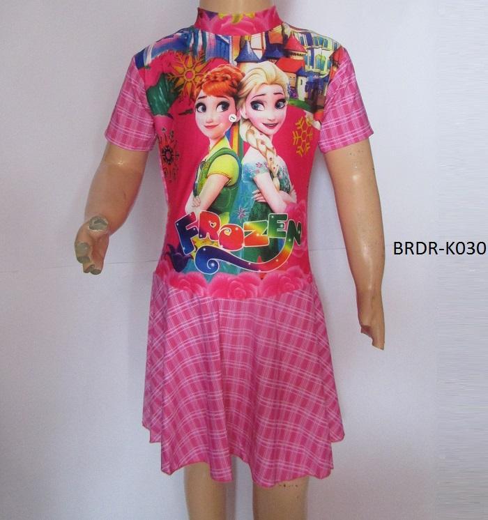 Baju Renang Anak Karakter Frozen Size SD