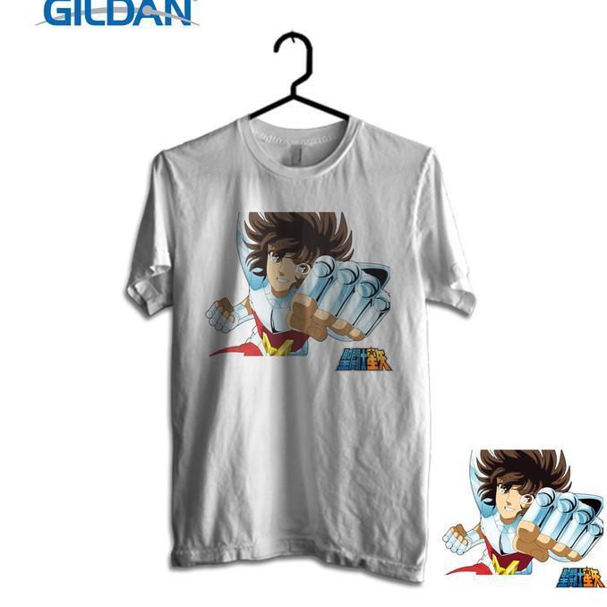Gildan Custom Graphic Tshirt / Kaos  Saint Seiya Punch - Sale Promo!!