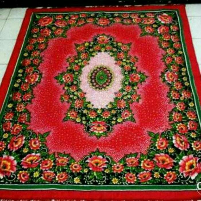 karpet permadani ukuran 2 x 3 motif bunga turkey