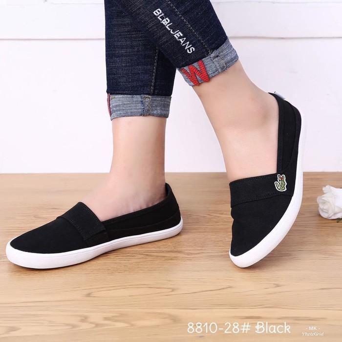 Sepatu Wanita Sepatu Wanita Sepatu Batam Lacoste Sneakers Sport  VC 8810-28