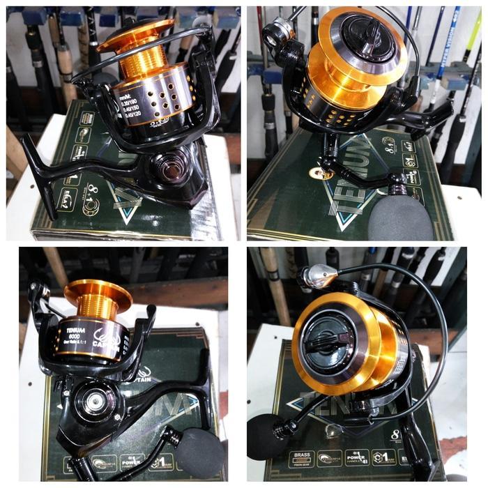 Reel captain tenium 6000 power handle - qpsRo1