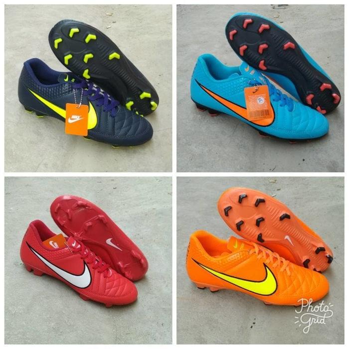 Bonus Deker!! Sepatu Bola Nike Tempo Kualitas Gra Ori