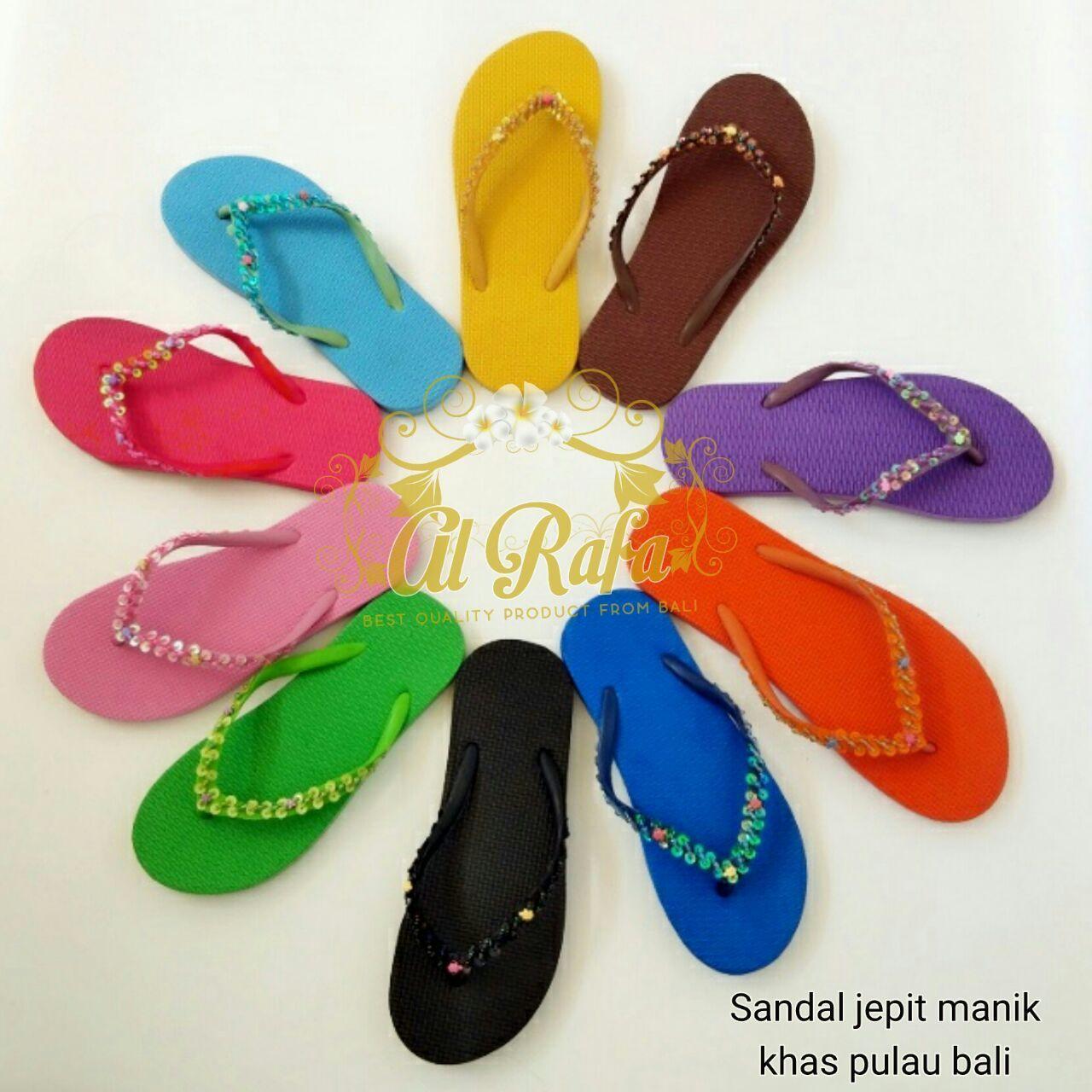 Sandal jepit manik khas bali