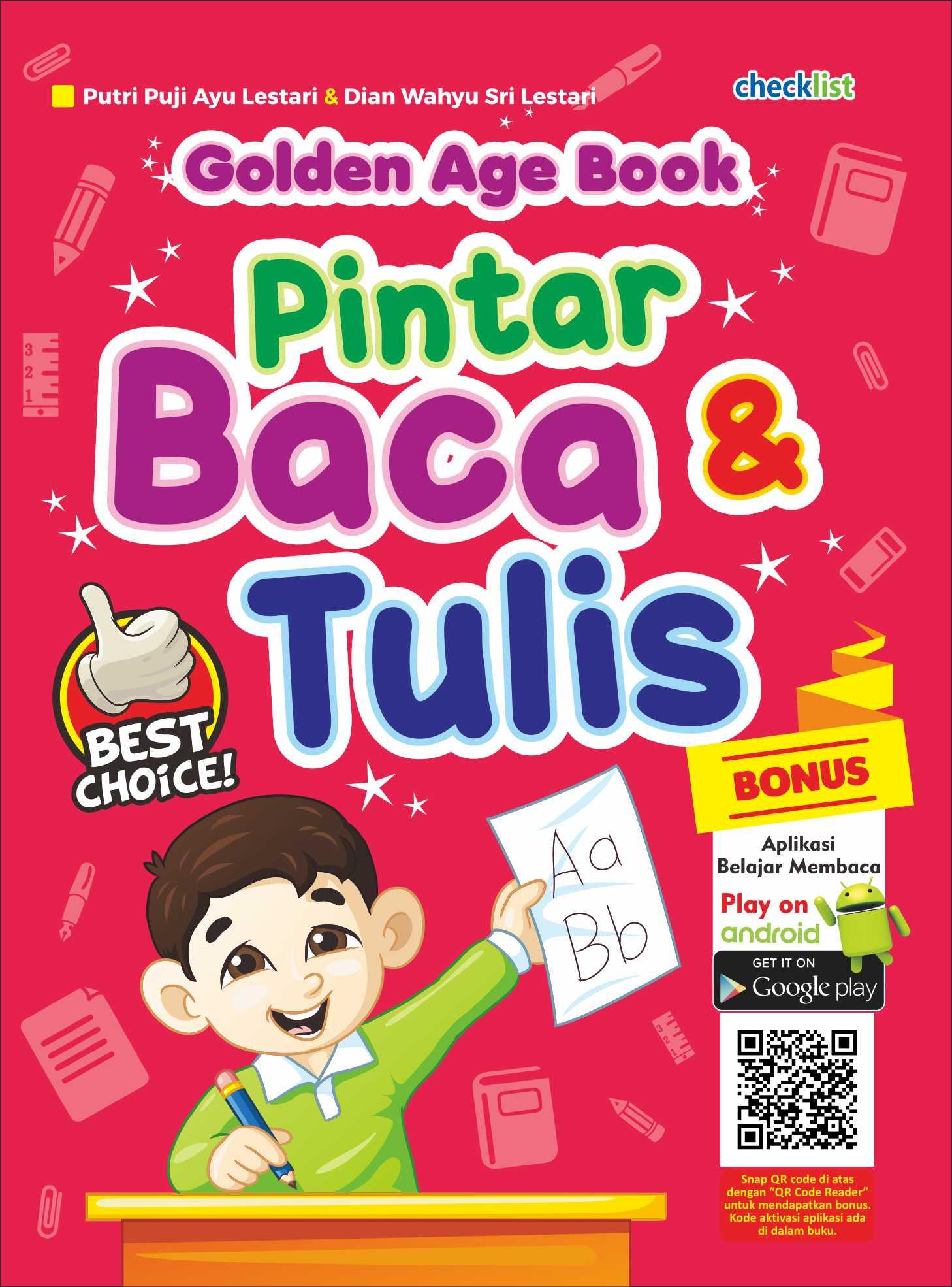 GOLDEN AGE BOOK PINTAR BACA & TULIS