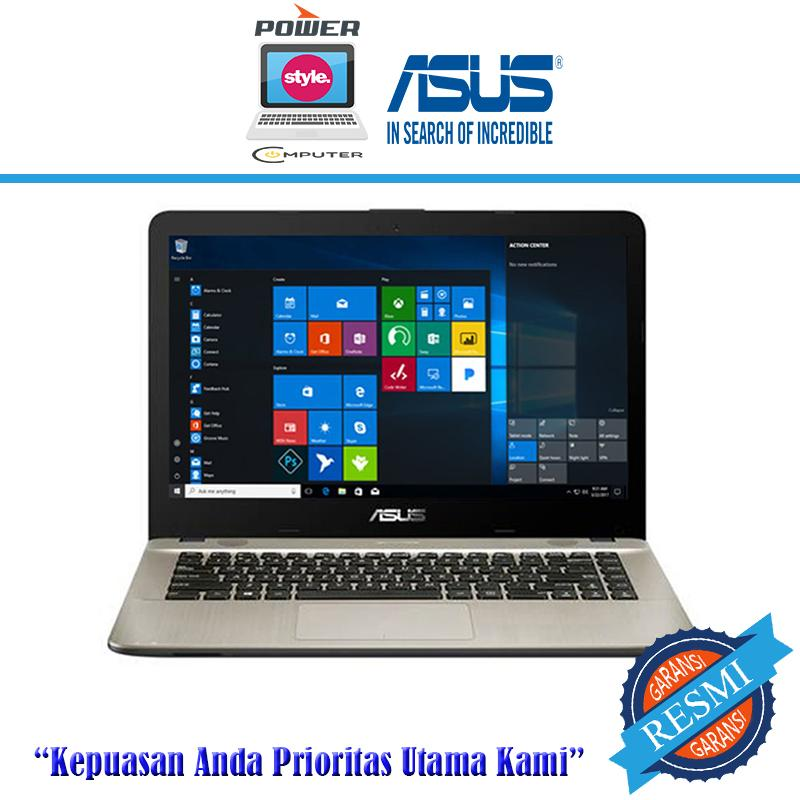 ASUS X441UV-WX280T - I3 6100U- 4GB- 1TB- GT920MX- WIN10- 14HD- BLACK
