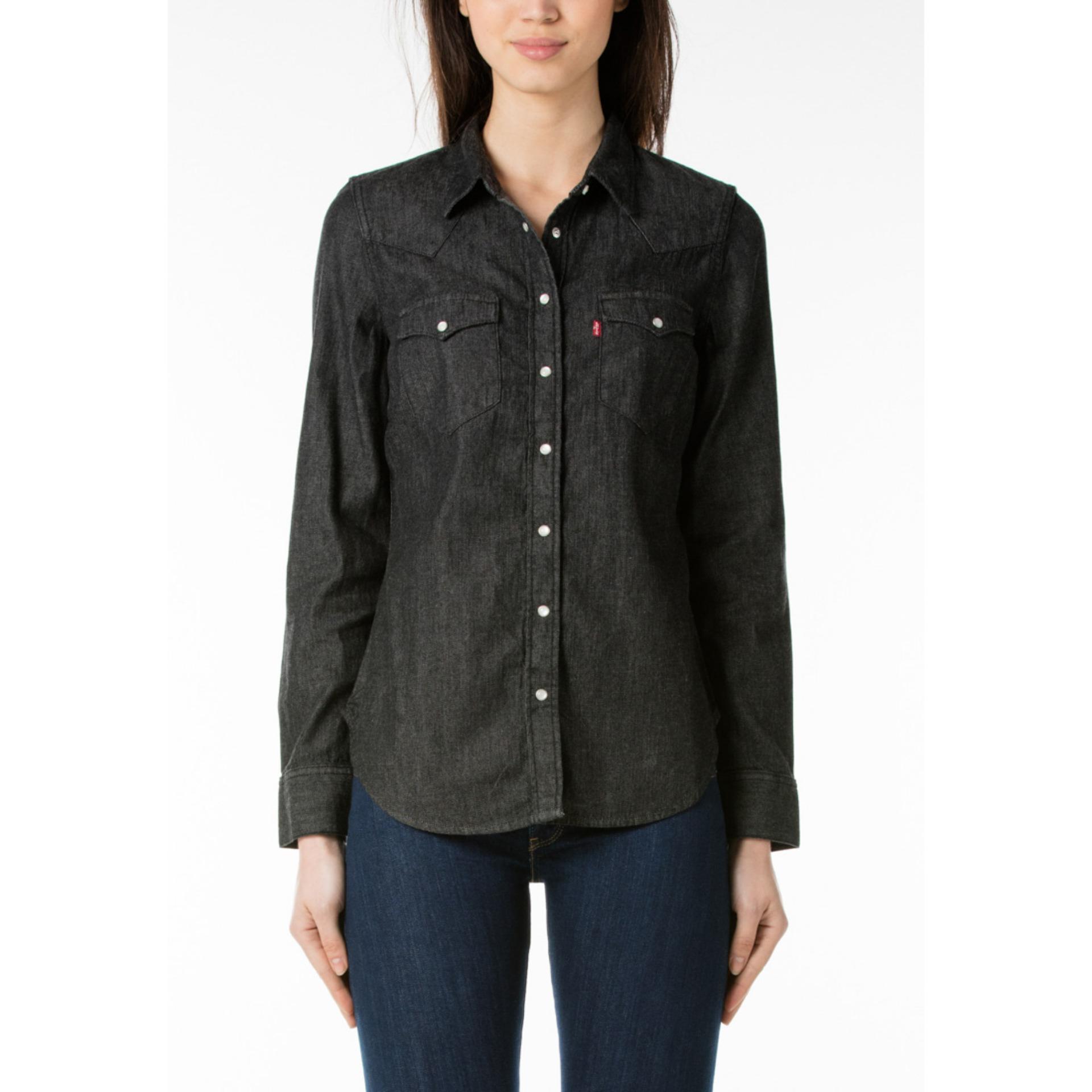 Levi's Tailored Classic Western Shirt - Vintage Black LVSBDAY