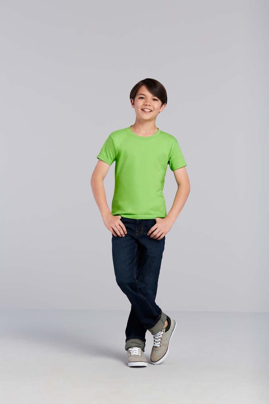 Gildan Youth Premium Cotton 76000B Kaos Polos Original [Lime]