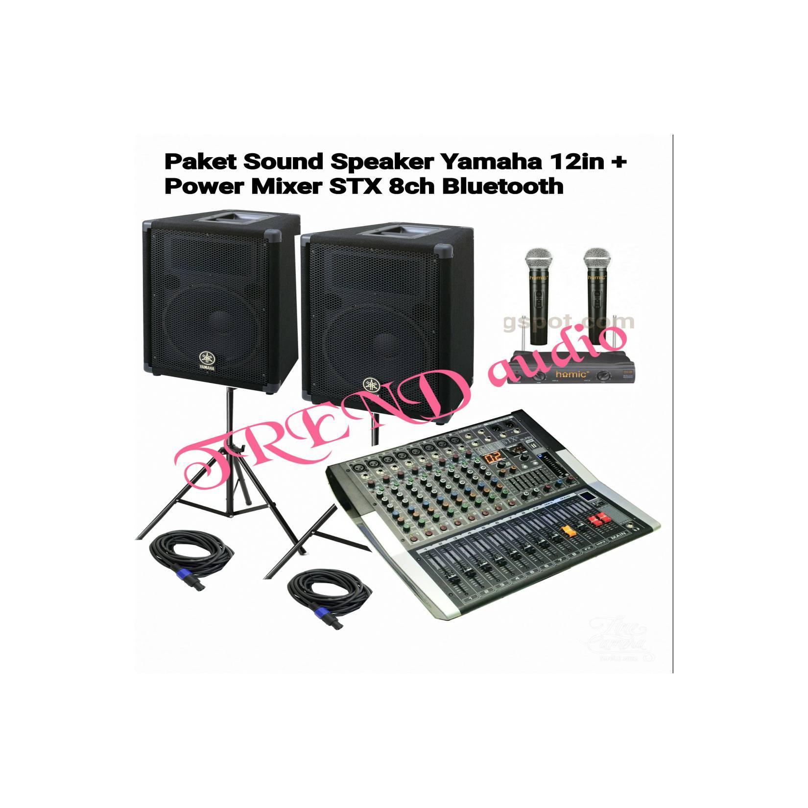 paket sound karaoke YAMAHA +MIXER STX ( ORIGINAL )