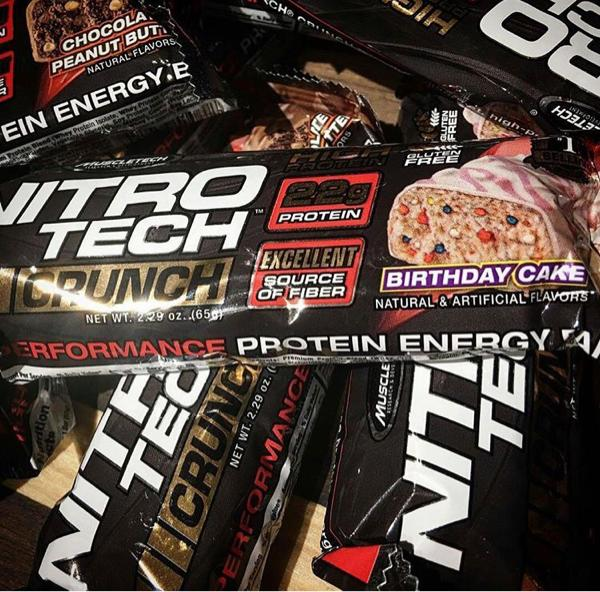 nitrotech nitro tech proteinbar protein bar questbar combat crunch - otndgk