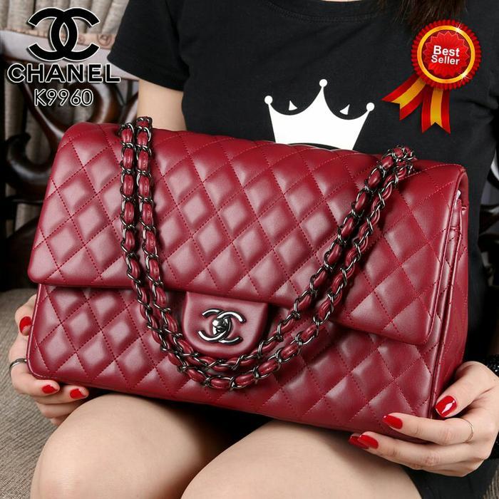 Tas Wanita Branded Import CHANEL YUNI SHARA 9960 MURAH