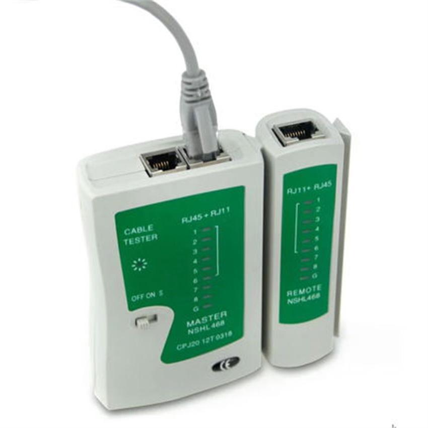 LAN Tester Network Cable - Alat Test Kabel Jaringan Komputer RJ45 RJ11