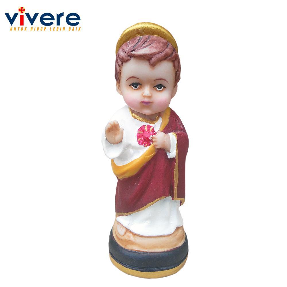 Patung Baby Face Yesus Hati Kudus