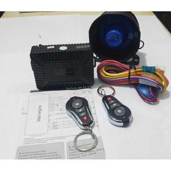 Hw375 Alarm Mobil Model M1 Avanza Chrome - Dkfuhsw