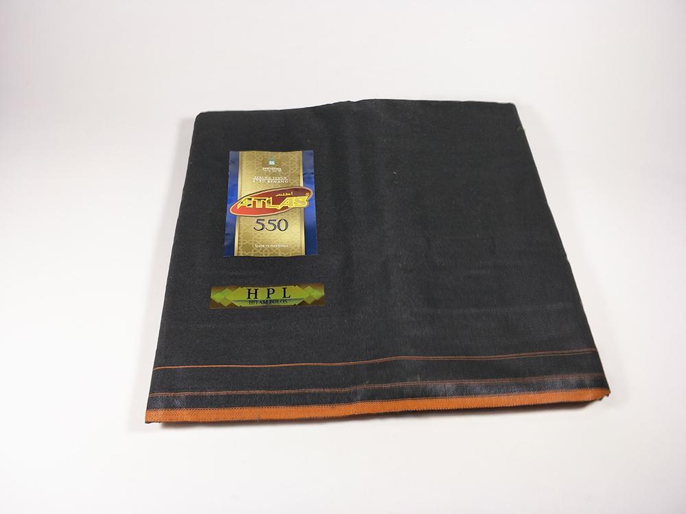 Atlas sarung Hitam Premium 550