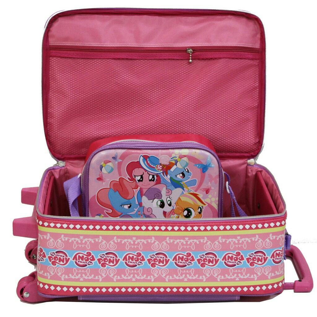 Kelebihan Tas Anak Sekolah Baru Koper Set Little Pony Dan Lunch Bag Ransel Paut Bus Tayo Bahan Kain Sponge Mini Anti Air Detail Gambar Tahan Terbaru