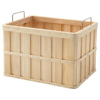 Pencari Harga IKEA BRANKIS Keranjang alami Ukuran 36x27x23 cm terbaik murah - Hanya Rp237.466