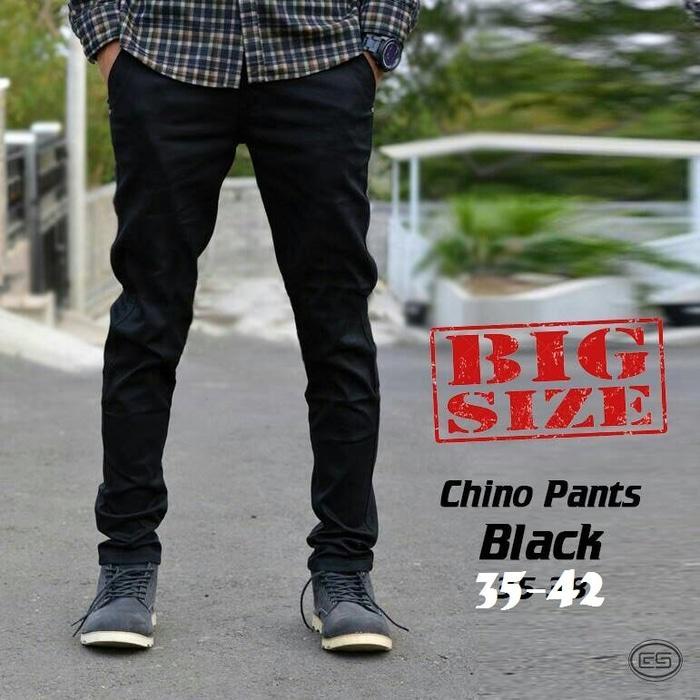 Celana Chino Panjang Jumbo  BIG SIZE Premium-35-36-37-38-39-40-41-42