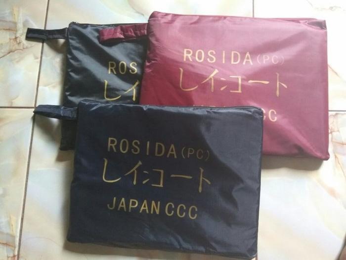 Jas Hujan Ponco/Poncho Rosida/Model Kelelawar All Size Import