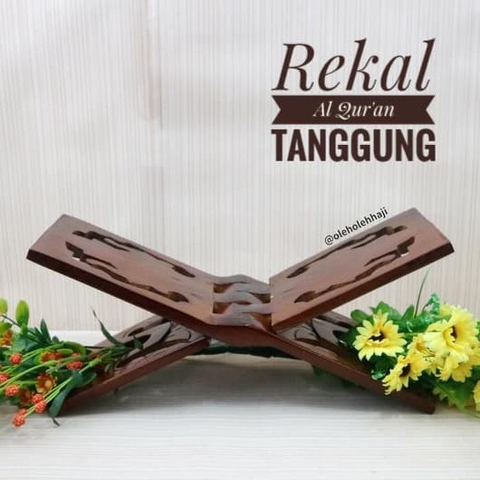 ... Tatakan Al Quran Jati 15cm Coklat Source · Rp 86 000 Rekal Rehal Kayu Alas Baca Al Quran Ukir TanggungIDR86000 Rp 92 500 Marlow