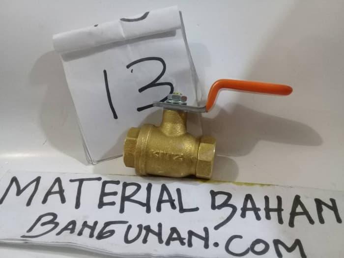Ballvalve 0.375 Inch KITZ Original Stop Kran Air Stop Keran Air Saluran Air Pralon Peralon