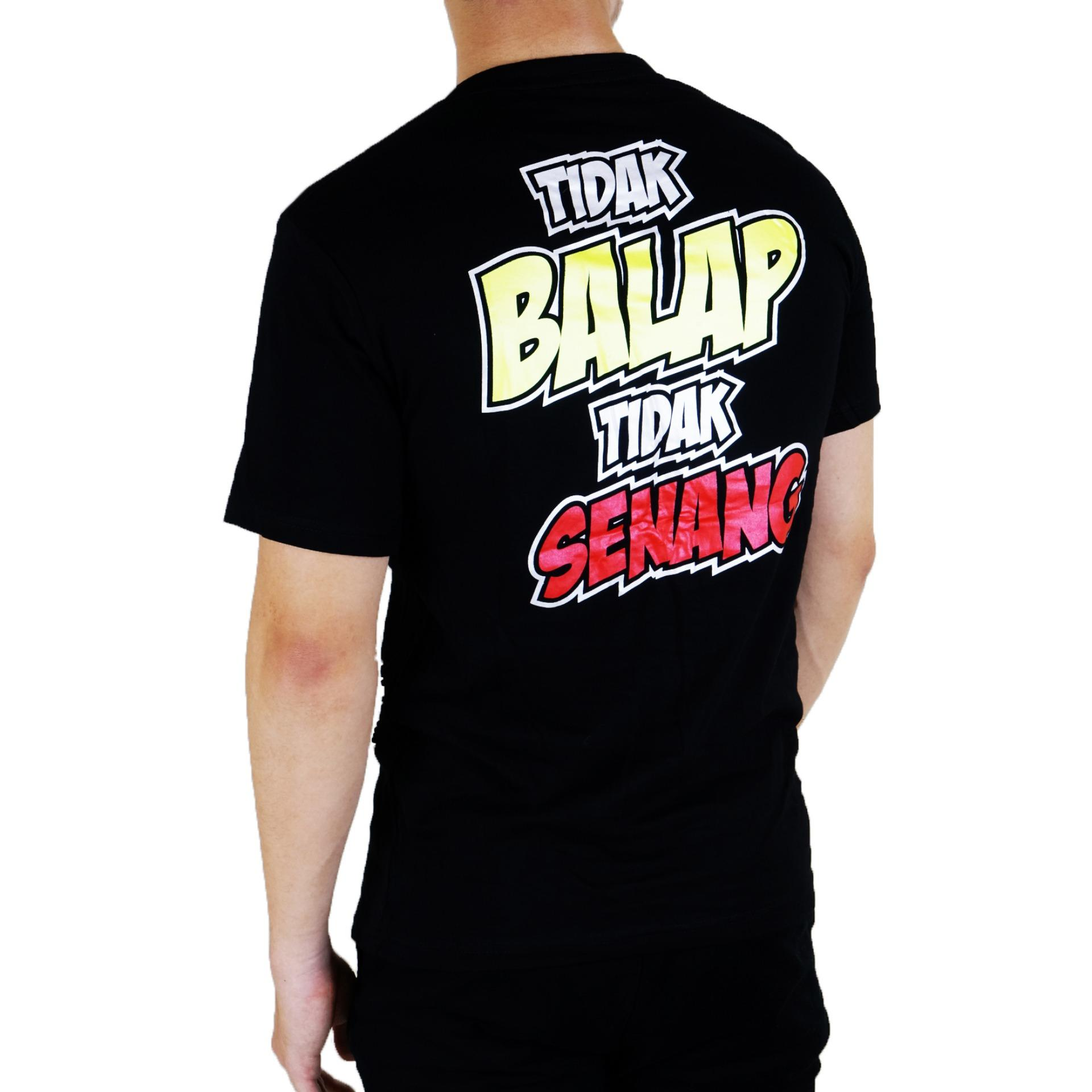 Detail Gambar Vanwin - Kaos T-Shirt Distro / kaos Pria / Tshirt Pria / Distro Pria / Baju Pria Premium Racing Gaspoll - Hitam Terkini