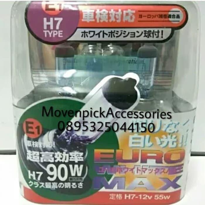 Bohlam IPF E71 H7 12V 55W EURO WHITE MAX ORIGINAL JAPAN