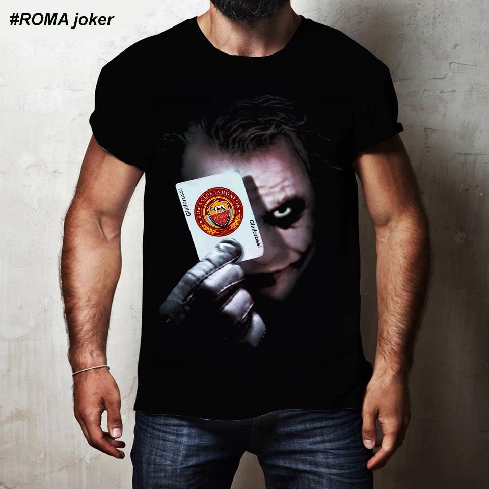 Kaos 3D Roma Joker