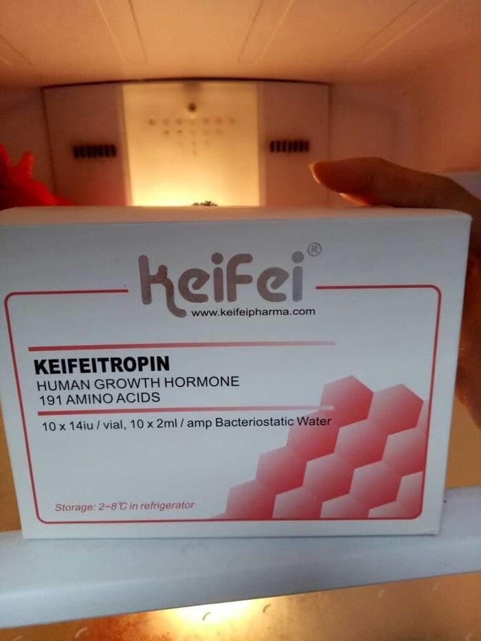 Jual cepat HGH Keifei Pharma second 14iu hgh ansomone hgh keifeitropin