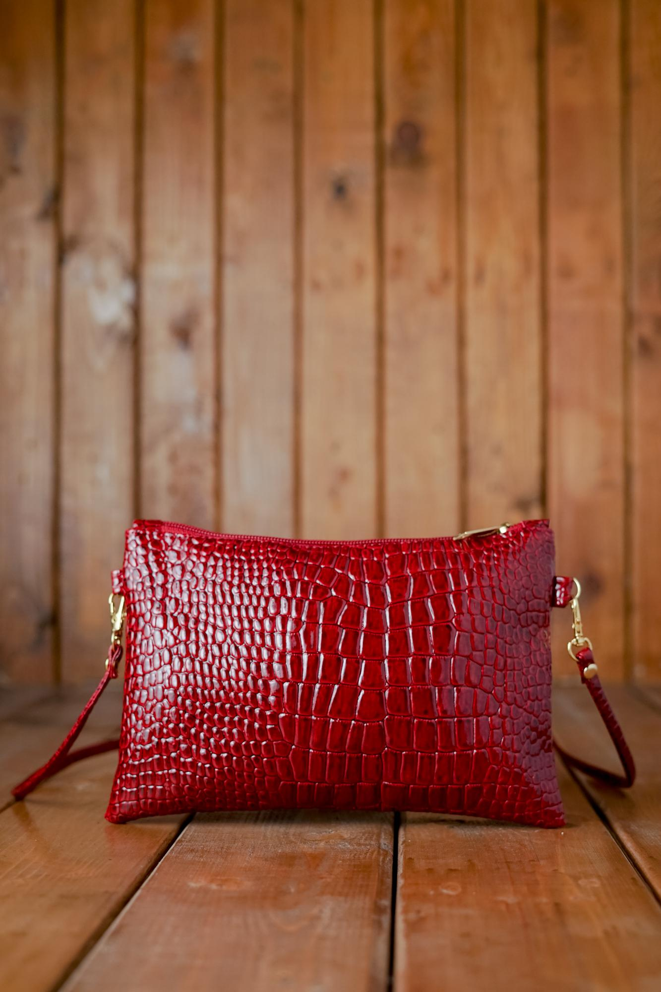 Buy Sell Cheapest Zelig Official Tas Best Quality Product Deals Selempang Fashion Korea Offical Mini Sling Bag Wanita Motif Crocodile Korean Dompet