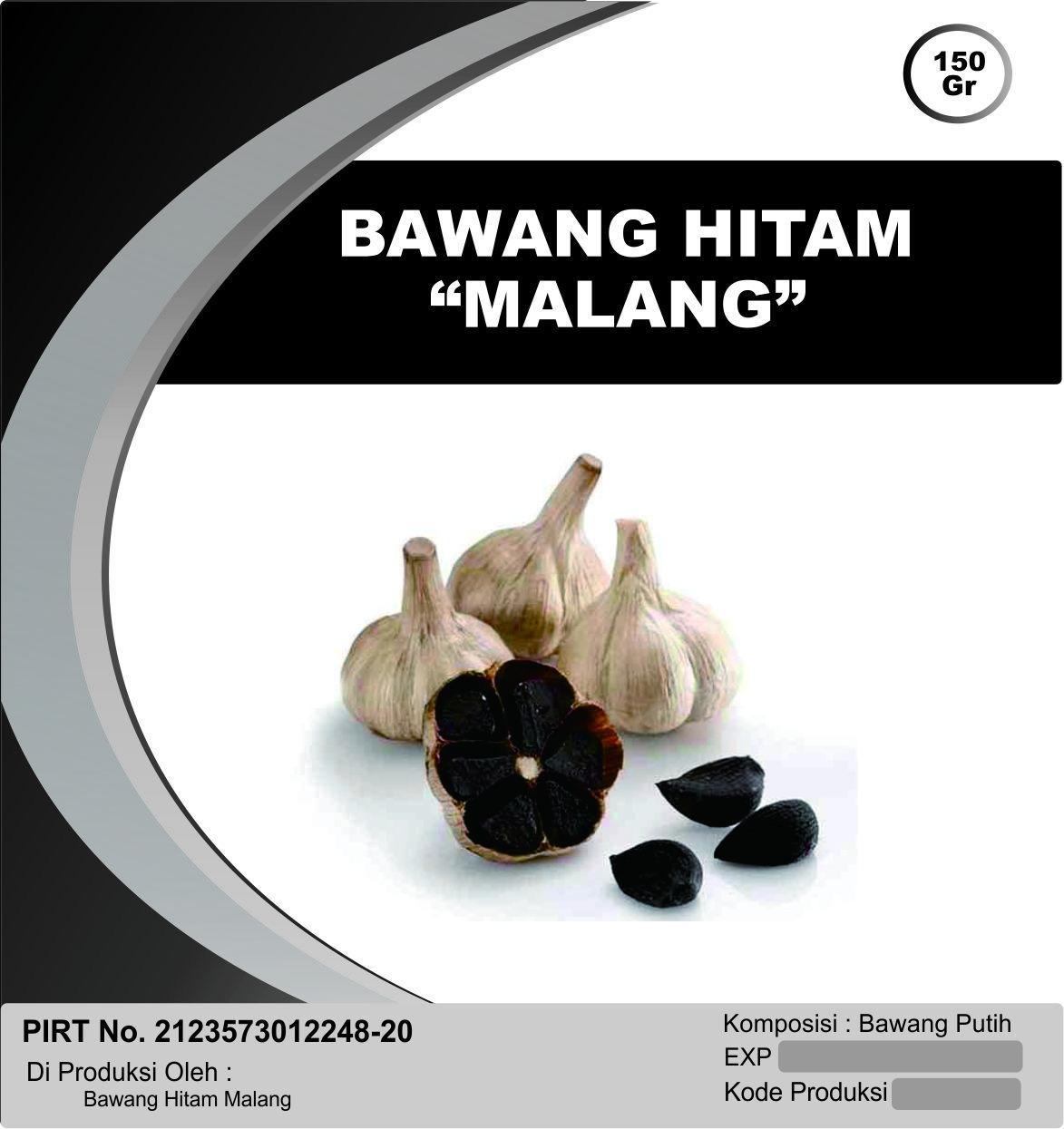 Bawang Hitam Malang Murah Berkualitas 150 Gram / Black Garlic
