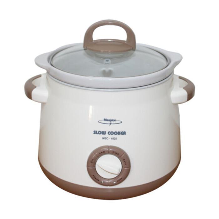 PROMO Maspion Slow cooker MSC1825 / Pemasak Pelan / Masak bubur MSC 1825 TERLARIS