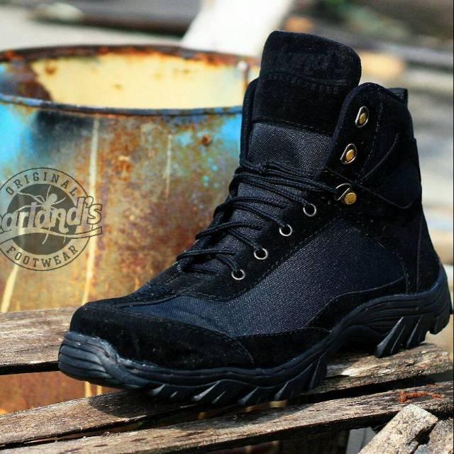 Sepatu Safety Original Boots Barlands Tracking Adventure Proyek Lapangan Delta Gurun Pdl Medium Pdl