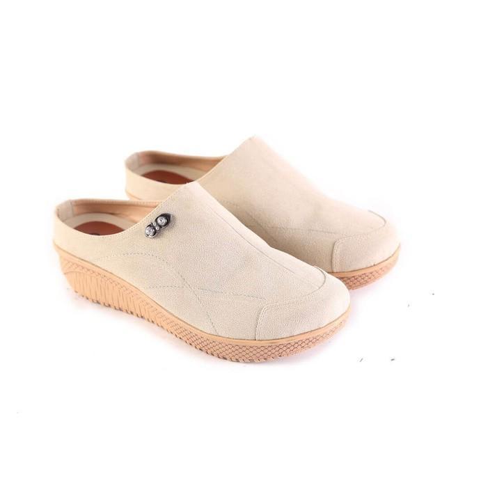 Promo Sepatu Sandal Wanita Bustong Sendal Selop Cibaduyut Garsel 495 Gratis Ongkir