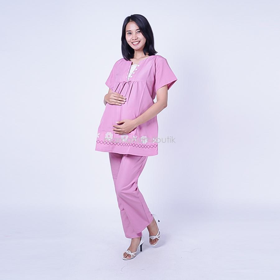 Cek Harga Baru Putri Merah Muda Wanita Hamil Boneka Muslim Ning Ayu Setelan V Renda Rose Std 73 Baju