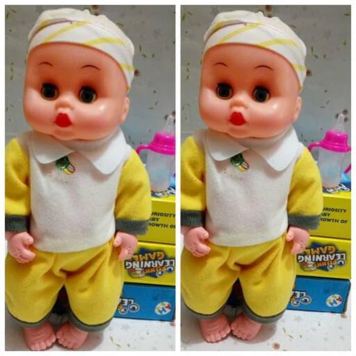 Fitur Boneka Bayi Baby Doll Menangis Tertawa Bicara Mama Papa Ngedot ... 1367e0a95d