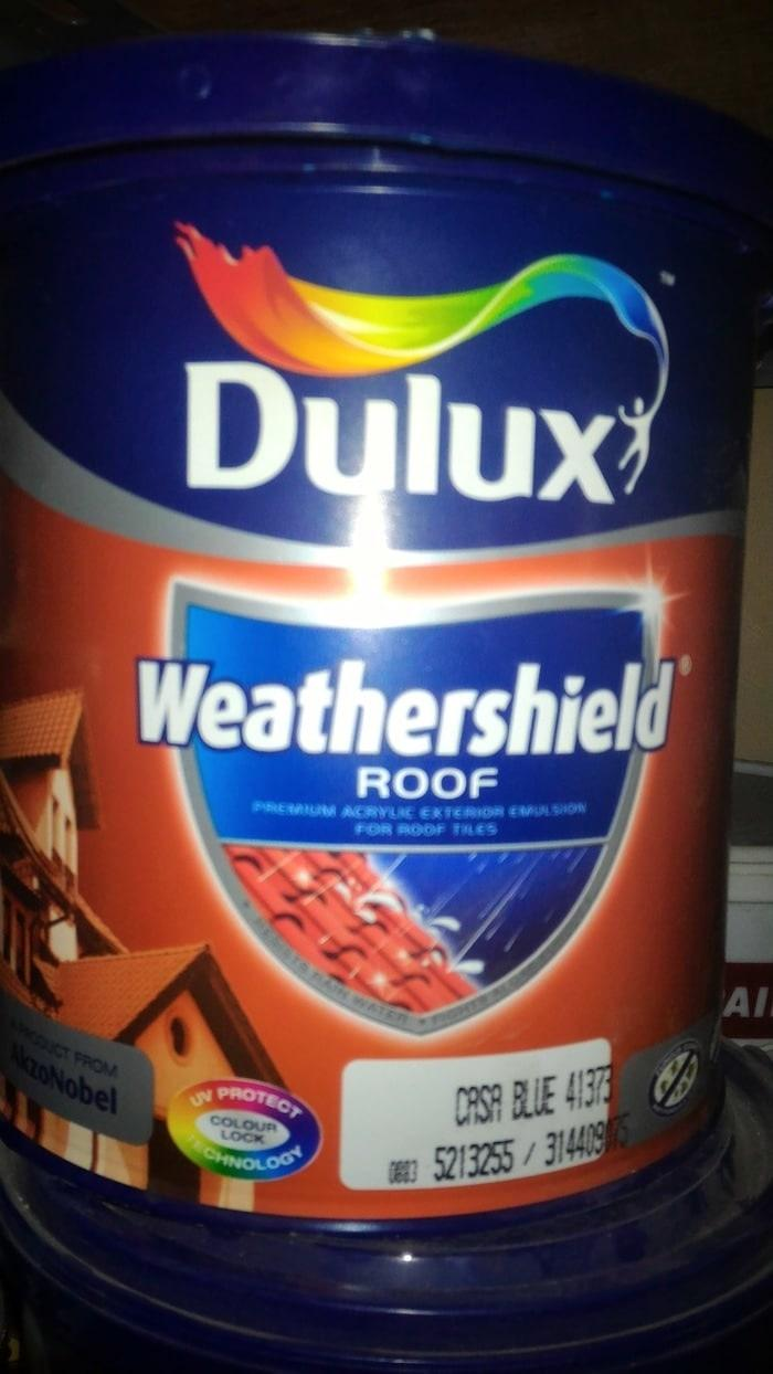 Cat Genteng Dulux Weathershield Roof (2.5 L)