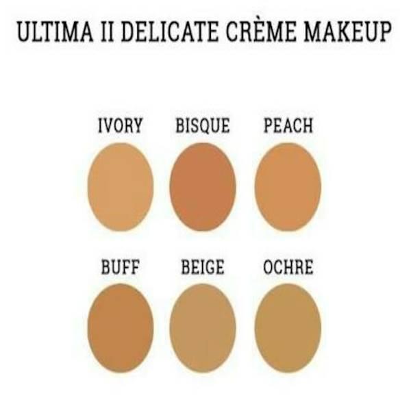 Ultima Ll Delicate Creme Makeup Powder Refill- Refill Bedak Padat