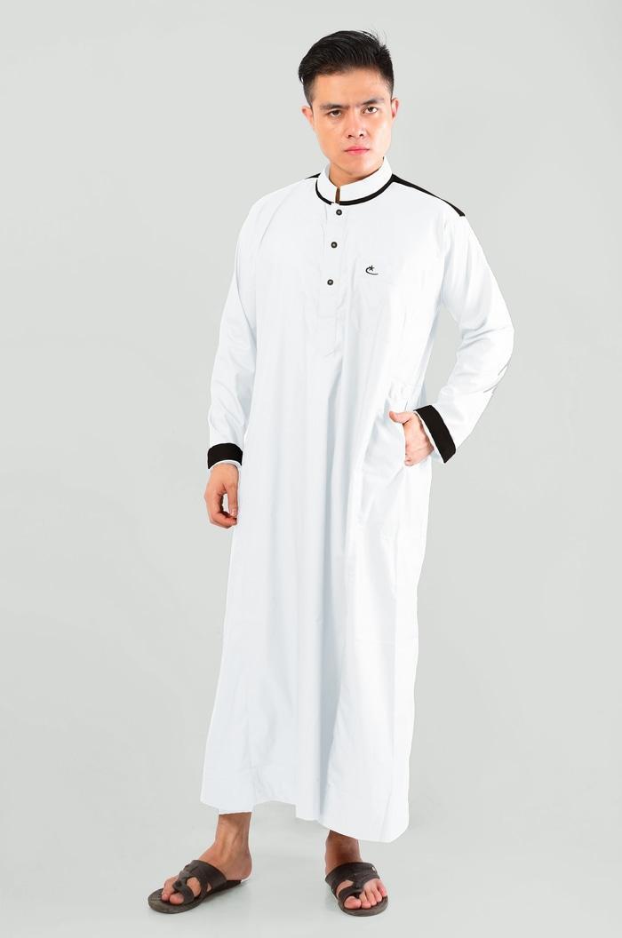 Terbaru Laris! Pakaian Gamis / Muslim  Pria Jubah Samha AL-ISRA Okechuku