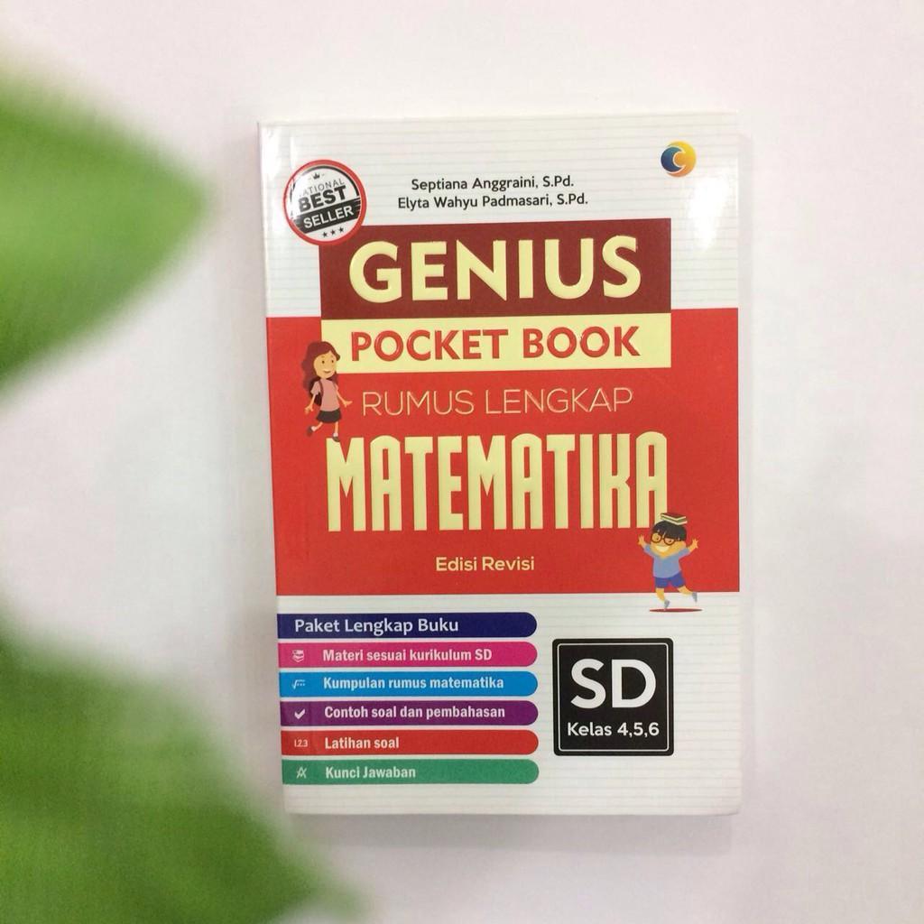 GENIUS POCKET BOOK RUMUS LENGKAP MATEMATIKA SD 4-5-6