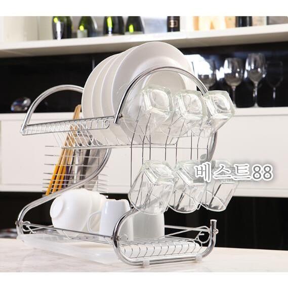 Kitchen Set Rak Pengering Piring 43 X 25 X 39 Cm - Xmpxze